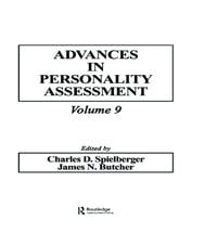 Advances in Personality Assessment: Volume 9