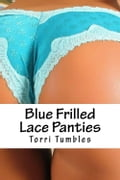 Blue Frilled lace Panties 7134e4ad-9080-4442-8acc-07ea2779167c