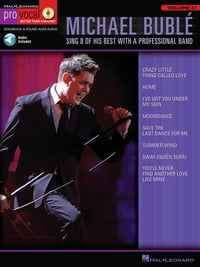 Michael Buble (Songbook): Pro Vocal Men's Edition Volume 27
