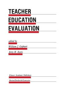 Teacher Education Evaluation