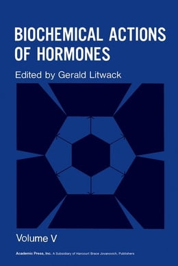 Book Biochemical Actions of Hormones V5 by Litwack, Gerald