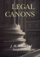 Legal Canons by Jack Balkin