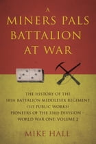 A Miners Pals Battalion at War: The History of the 18th Battalion Middlesex Regiment (1st public works) Pioneers of the 33rd Divisio by Mike Hall