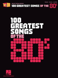 VH1's 100 Greatest Songs of the '80s (Songbook)
