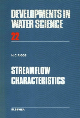 Book Streamflow Characteristics by Riggs, H.C.
