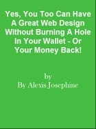 Yes, You Too Can Have A Great Web Design Without Burning A Hole In Your Wallet - Or Your Money Back! by Editorial Team Of MPowerUniversity.com