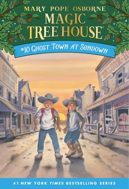 Book Ghost Town at Sundown by Mary Pope Osborne
