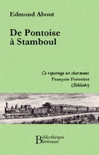 De Pontoise à Stamboul by Edmond About