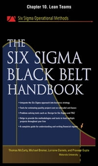 The Six Sigma Black Belt Handbook, Chapter 10 - Lean Teams