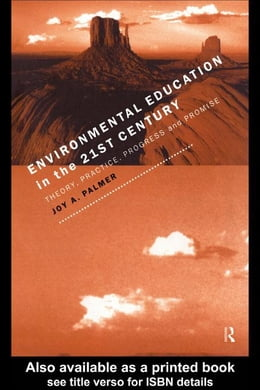 Book Environmental Education in the 21st Century by Palmer, Joy