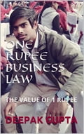 9788822831644 - Deepak Gupta: One rupee business law: the value of 1 re - كتاب