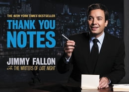 Book Thank You Notes by Jimmy Fallon