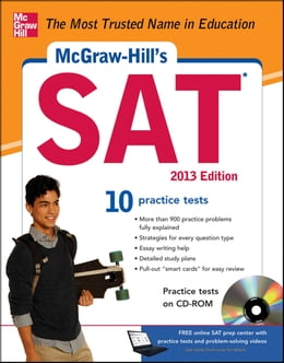 Book McGraw-Hill's SAT with CD-ROM, 2013 Edition by Christopher Black