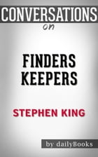 Finders Keepers by Stephen King by dailyBooks
