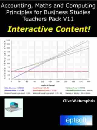 Accounting Maths and Computing Principles for Business Studies Teachers Pack V11