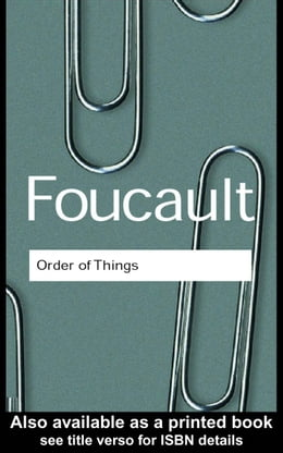 Book The Order of Things by Foucault, Michel