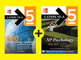 Book 5 Steps to a 5 AP Psychology, 2014-2015 Edition by Laura Lincoln Maitland