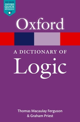 Book A Dictionary of Logic by Thomas Macaulay Ferguson
