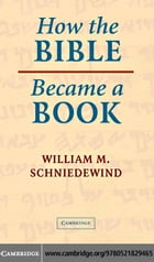 How the Bible Became a Book