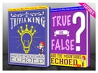 And the Mountains Echoed - True or False? & Trivia King!: Fun Facts and Trivia Tidbits Quiz Game Books by G Whiz