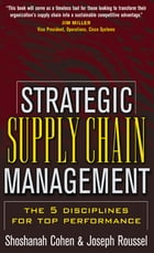 Strategic Supply Chain by Shoshanah Cohen