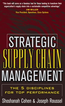 Book Strategic Supply Chain by Shoshanah Cohen