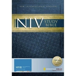 Book Zondervan NIV Study Bible (Red Letter Edition): Updated Edition by Zondervan