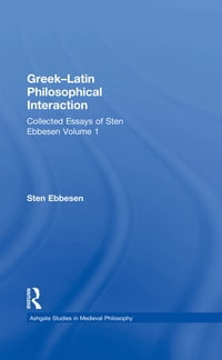 Greek–Latin Philosophical Interaction