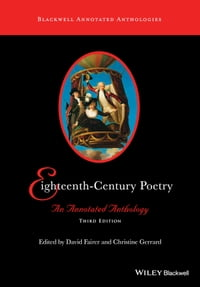 Eighteenth-Century Poetry: An Annotated Anthology