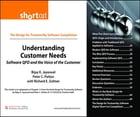 Understanding Customer Needs (Digital Short Cut): Software QFD and the Voice of the Customer by Bijay K. Jayaswal