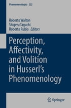 Perception, Affectivity, and Volition in Husserl's Phenomenology by Roberto Walton