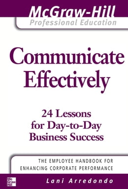 Book Communicate Effectively by Arredondo, Lani