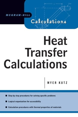 Book Heat Transfer Calculations by Kutz, Myer