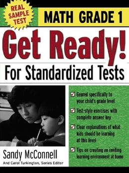 Book Get Ready! For Standardized Tests : Math Grade 1 by McConnell, Sandy