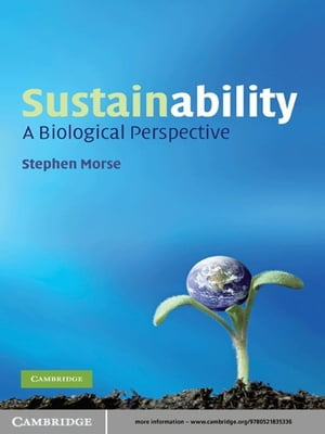 Sustainability A Biological Perspective