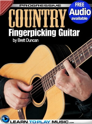 Country Fingerstyle Guitar Lessons: Teach Yourself How to Play Guitar (Free Audio Available) by LearnToPlayMusic.com