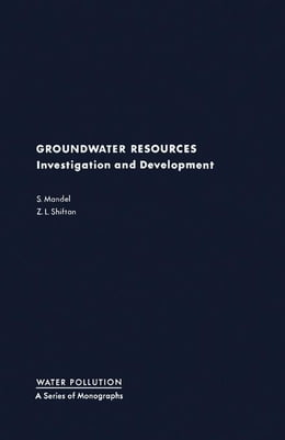 Book Groundwater Resources: Investigation and Development by Mandel, S