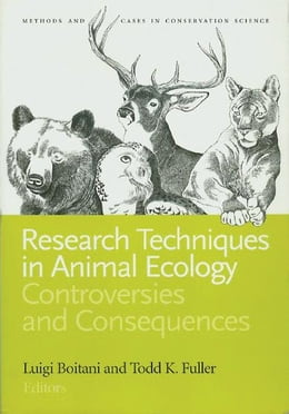 Book Research Techniques in Animal Ecology: Controversies and Consequences by Luigi Boitani