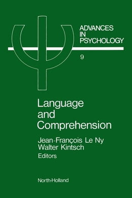 Book Language and comprehension by Leny, Jean-Francois