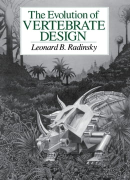 Book The Evolution of Vertebrate Design by Leonard B. Radinsky