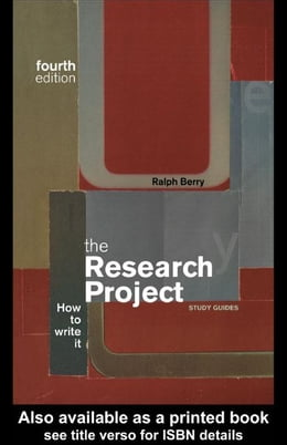 Book The Research Project by Berry, Ralph