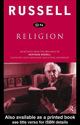 Book Russell on Religion by Russell, Bertrand Arthur