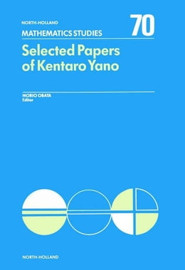 Book Selected Papers of Kentaro Yano by Obata, M.