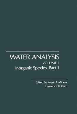 Book Inorganic Species, Part 1 by Minear, Roger
