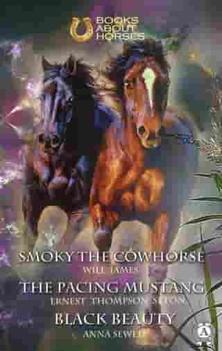 Smoky the Cowhorse The pacing mustang Black Beauty by James Will