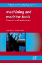 Machining and Machine-tools: Research And Development