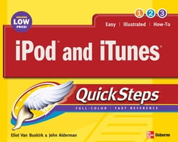 Book iPod and iTunes QuickSteps by Eliot Van Buskirk