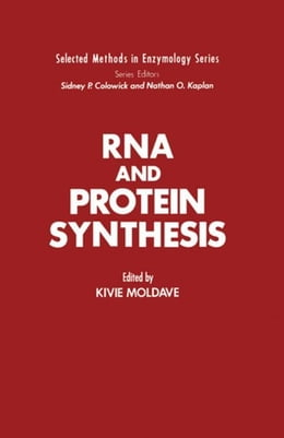 Book RNA and Protein Synthesis by Moldave, Kivie