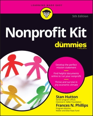 Nonprofit Kit For Dummies by Stan Hutton