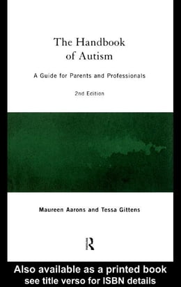 Book The Handbook of Autism by Aarons, Maureen